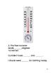 Montessori Temperatures (fahrenheit and celsius)