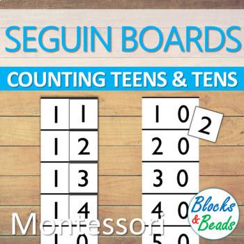 Montessori Tens Seguin Board