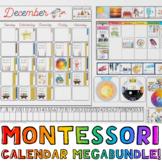 Montessori-Themed Giant Wall Calendar, Perpetual Calendar