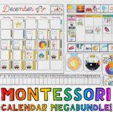 Bundle! Montessori-Themed Giant Wall Calendar AND Matching