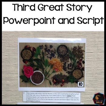 Montessori Third Great Story Script and Powerpoint