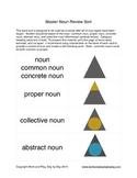 Montessori Types of Nouns Word Sort