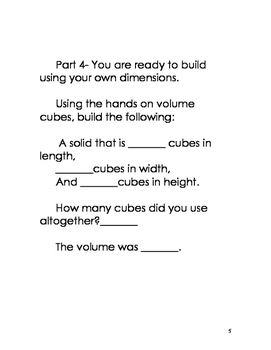 Montessori Volume Cubes