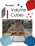 Montessori Volume Cubes