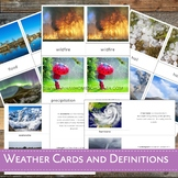 Montessori Inspired Weather Cards