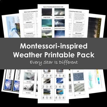 Montessori Winter Activities Bundle