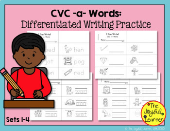Word Building & Writing Practice: CVC -e- Words