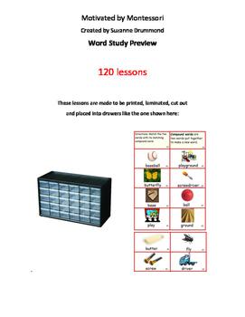 Montessori Word Study Lessons
