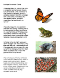 Montessori Zoology - First Knowledge - Story Command Cards
