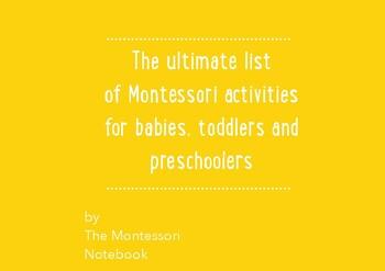 Montessori activities 0-2 years old