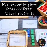 Montessori math: advanced place value task cards SET 1