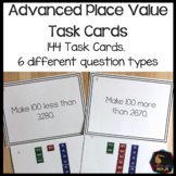 Montessori math: advanced place value task cards SET 1