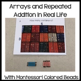 Montessori arrays (colored bead bars)