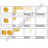 Montessori golden bead system worksheet
