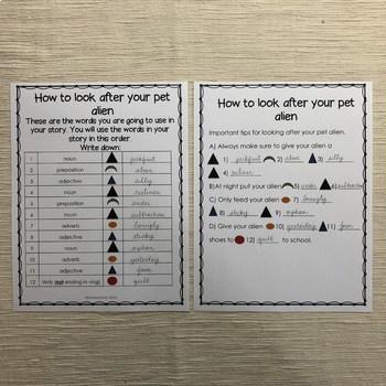 Montessori grammar activity set 2