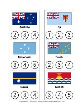 Montessori-inspired Australia/Oceania Printable Pack Bundle