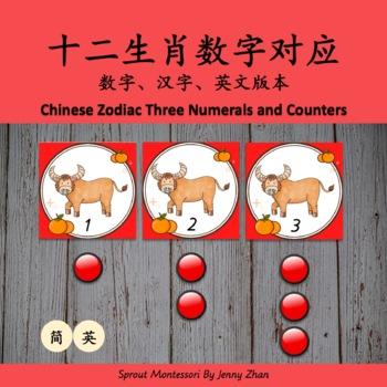 Montessori-inspired Bilingual CHINESE NEW YEAR THEME ACTIVITY BUDDLE 3-6year-old