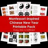 Montessori-inspired Chinese New Year Printable Pack