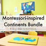 Montessori-inspired Continents  Bundle