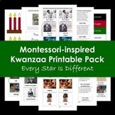 Montessori-inspired Kwanzaa Printable Pack