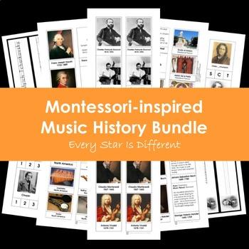 Montessori-inspired Music History Bundle