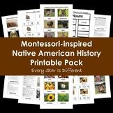 Montessori-inspired Native American History Printable Pack