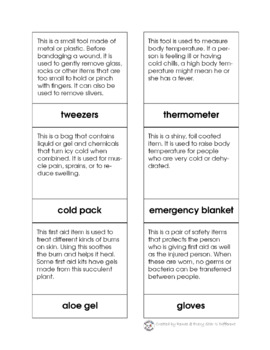 photograph about First Aid Printable identified as Montessori-encouraged Self-Treatment: Initial Assist Printable Pack