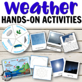 Montessori inspired weather and water cycle printables bundle
