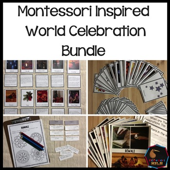 Montessori inspired world celebrations bundle