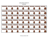 Montessori long bead chain 8 (Math) worksheet