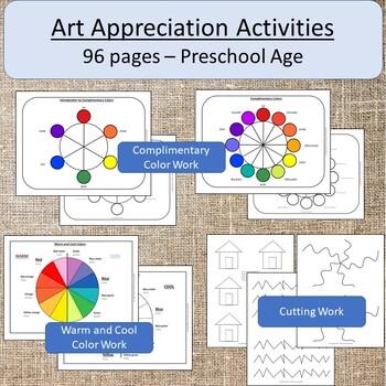 Montessori or Preschool Art Appreciation Curriculum
