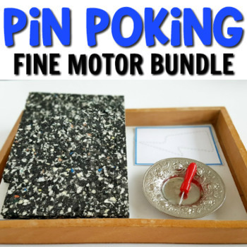 Montessori pin poking bundle