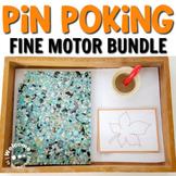 Montessori pin poking bundle