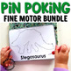 Pin Poking Bundle for Montessori Activities or Fine Motor Centers
