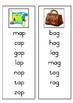 Montessori pink word list