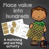 Montessori Place value with hundreds