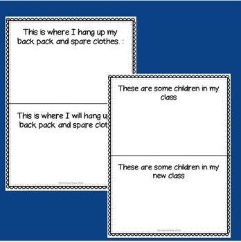 Montessori social story: my new school