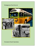 Montgomery Bus Boycott: Document Based Questions