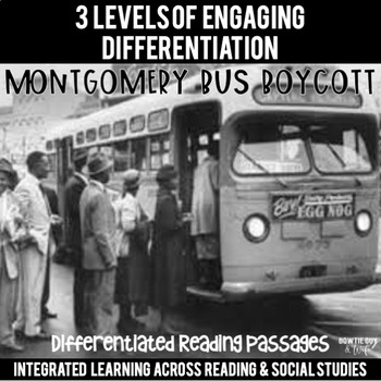 Montgomery Bus Boycott Reading Passages Leveled Texts