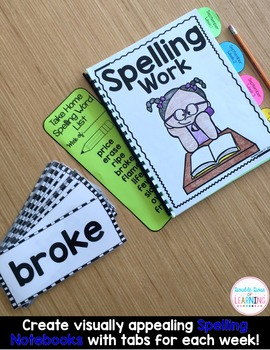 Spelling Workbook: Second and Third Grade Unit 1