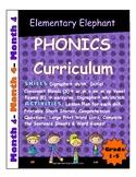 PHONICS-MONTH 4--Elementary Elephant Curriculum-Interventi