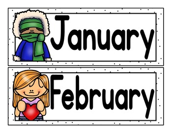 Month Cards