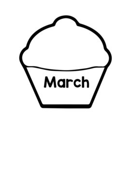 Month Cupcakes