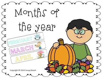 Month Headers