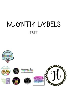 Month Labels