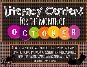 Month-Long Literacy Centers