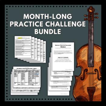 Month-Long Practice Challenge Bundle