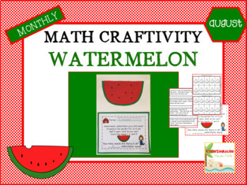 Month Math Craftivities-THE BUNDLE