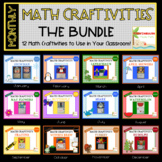 Month Math Craftivities-THE BUNDLE