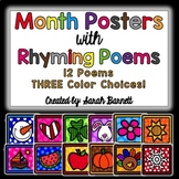 Month Poem Posters!